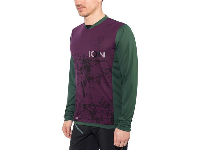 ION Scrub AMP T-shirt manches longues Homme, green seek